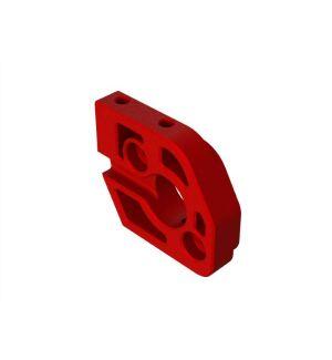 Arrma Piastra supporto motore alluminio rosso - ARA320483