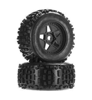 Arrma dBoots Backflip MT 6S Tire Wheel Set AR510092