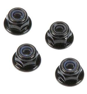 Arrma Flange Lock Nuts 4mm (4) AR708001