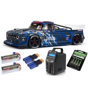 Arrma INFRACTION 1/7 6S BLX All-Road Truck RTR, Blue SUPER COMBO 6S FP
