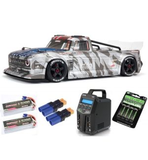 Arrma INFRACTION 1/7 6S BLX All-Road Truck RTR, Silver SUPER COMBO 6S FP