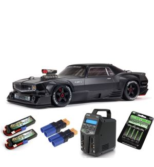 Arrma FELONY 1/7 6S BLX Street Bash All-Road Muscle Car RTR, Black SUPER COMBO 6S