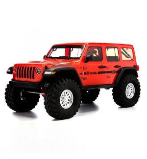 Axial SCX10 III Jeep JLU Wrangler 1/10 with Portals RTR, Orange
