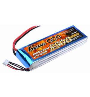 Gens ACE Batteria Lipo 3S 2500 mAh 25C - DEANS