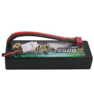 Gens ACE Batteria Lipo 2S 5500mAh 50C Bashing Series Hardcase - DEANS