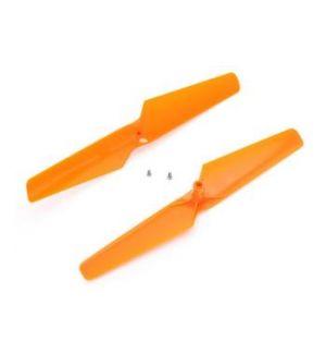 Blade mQX - 180 QX - Eliche arancio rotazione oraria e antioraria (2 pz)