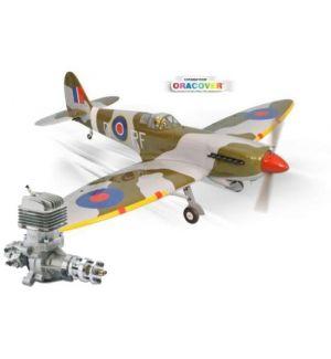 Phoenix Model Spitfire 30cc + DLE 35 RA Aeromodello riproduzione
