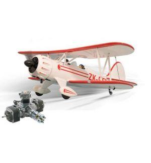 Phoenix Model Waco Size 61cc + DLE 60 bicilindrico Aeromodello riproduzione