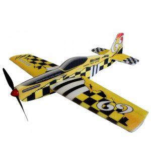 RC Factory Mustang (giallo) / 780 mm Aeromodello acrobatico