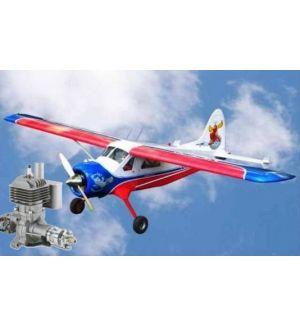 VQ Model DHC Beaver BIG (Kenmore Air) / 2850mm + DLE 30 Aeromodello riproduzione