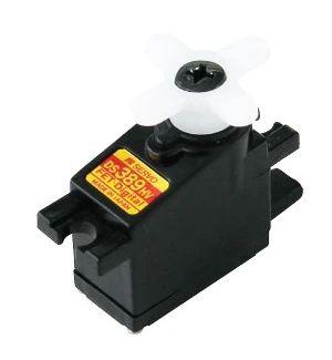 JR/DFA DS389HV - 1,1 (8,4V)-0,07 (8,4V) Servocomando micro MG