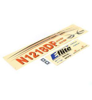 E-flite Decals Carbon-Z Cub SS 2m - EFL12415