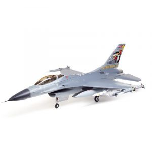 E-flite F-16 Falcon 80mm EDF Smart BNF Basic with SAFE Select