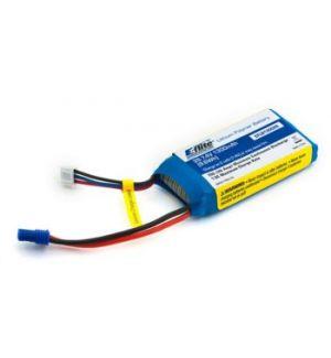 E-flite Batteria Lipo 1300mAh 2S 7.4V 20C LiPo, 18 AWG EC2