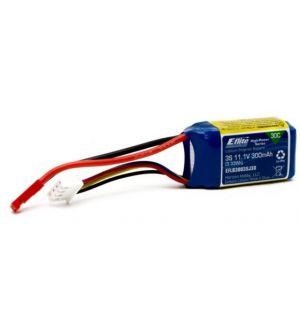 E-flite Batteria Li-Po 3 celle 300mAh 30C