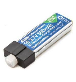 E-flite Batteria Li-Po 1 cella 500mAh UMX 25C