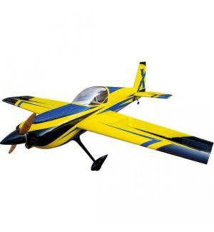 Extreme Flight Slick 580 74 ARF Giallo/Blu - 188 cm Aeromodello acrobatico