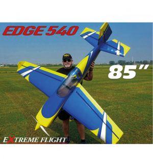 Extreme Flight Edge 540 85 Giallo/Blu ARF - 216 cm Aeromodello acrobatico