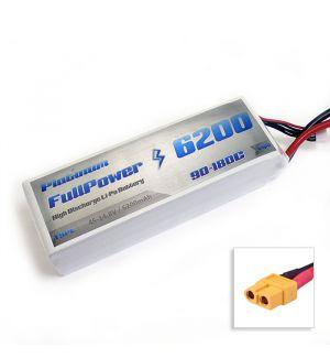 FullPower Batteria Lipo 4S 6200 mAh 90C PLATINUM - XT90