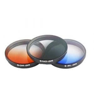 PolarPro Filtri Osmo/Inspire1 (X3) - Filtri graduati - 3 pz