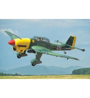 Black Horse Model Junkers JU 87 Stuka / 1920mm Aeromodello riproduzione