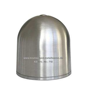 KS Ogiva alluminio ø 80x82 mm a Cupola con vite 5 MA