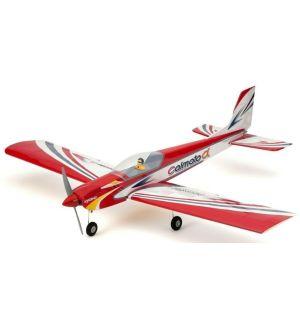 Kyosho Calmato Alpha 40 Sports - Toughlon - Rosso Aeromodello acrobatico