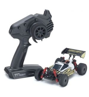 Kyosho Mini-Z MB010 Inferno MP9 TKI3 4WD 1/24 BIANCO/NERO - READYSET