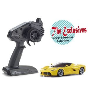 Kyosho Mini-Z MR03 RWD Ferrari LA FERRARI gialla