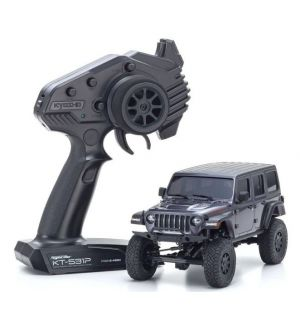 Kyosho Mini-Z 4X4 MX-01 Jeep Wrangler Rubicon Granite Metallic (KT531P)