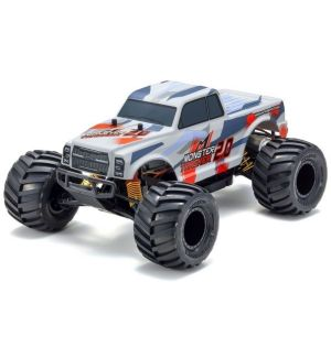 Kyosho Monster Tracker 2.0 T2 ROSSO 1:10 EP Readyset Automodello elettrico