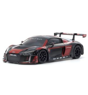 Kyosho Carrozzeria mini-z audi r8 lms 2015 black-red (w-mm) - MZP234BKR