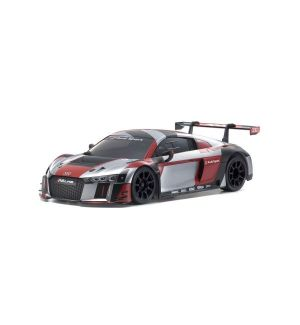 Kyosho Carrozzeria mini-z audi r8 lms 2015 grey-red (w-mm) - MZP234RGB