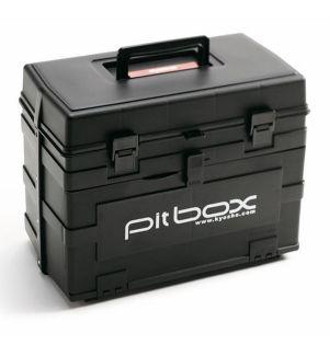 Kyosho Cassetta porta attrezzi PITBOX nera 420x240x330mm