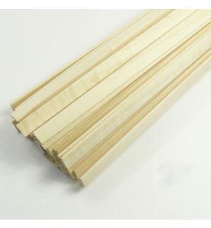jWood Listello tiglio rettangolare 1x8x1000 mm