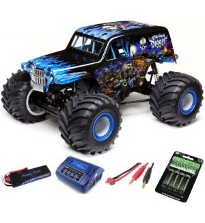 Losi Solid Axle Monster Truck RTR SonUvaDigger SUPER COMBO 2S