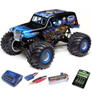 Losi Solid Axle Monster Truck RTR SonUvaDigger SUPER COMBO 3S FP