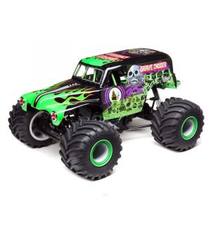 Losi Solid Axle Monster Truck RTR Grave Digger