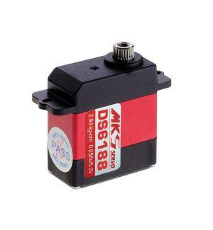 MKS DS6188 - 2,9 (6,0V)-0,05 (6,0V) Servocomando mini