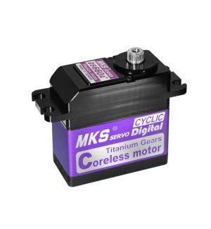 MKS DS660A+ - 26,3 (6,0V)-0,14 (6,0V) Servocomando standard