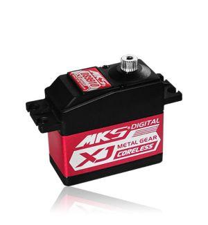 MKS DS9910- 26,0 (6,0V)-0,15 (6,0V) Servocomando standard