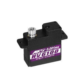 MKS HV6100- 3,4 (8,4V)-0,10 (8,4V) Servocomando micro
