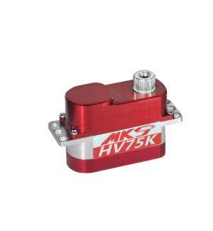 MKS HV75K- 3,3 (8,4V)-0,09 (8,4V) Servocomando micro