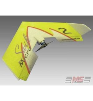 MS Composit Micro Swift - Yellow + Motore, servi, regolatore