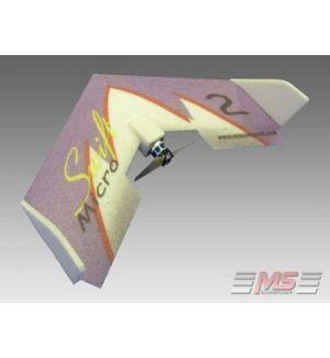 MS Composit Micro Swift - Magenta + Motore, servi, regolatore