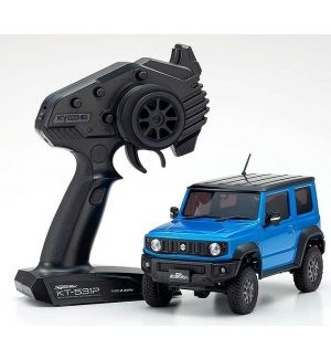 Kyosho Mini-Z 4X4 MX-01 Suzuki Jimny Sierra Jungle Blu