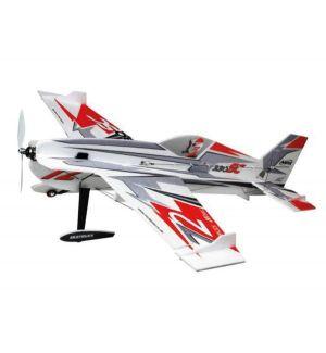 Multiplex Extra 330SC Indoor Edition Rosso-Argento Aeromodello acrobatico