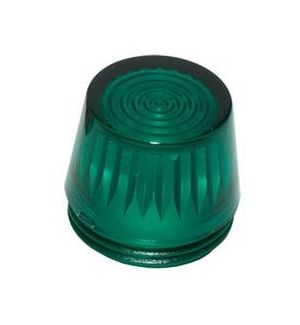 Optotronix by Emcotec Calottina trapezio verde trasparente 16mm (2 pz)