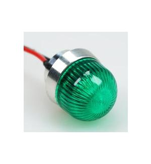 Optotronix by Emcotec Led verde 3W arrotondato 11 mm