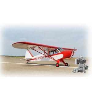 Phoenix Model Super Cub PA -18 30cc 272cm + DLE 30 - Aeromodello Riproduzione